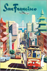 Premium poster  San Francisco - Travel Collection