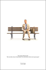 Premium poster  Forrest Gump - Entertainment Collection