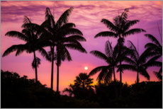 Canvas print  Sunset on the Kona Coast - Russ Bishop