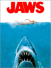 Canvas print  Jaws