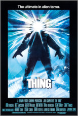 Foam board print  The Thing - Entertainment Collection