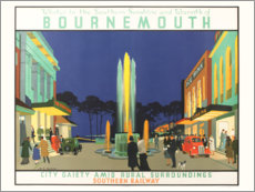 Premium poster  Bournemouth - Henry George Gawthorn