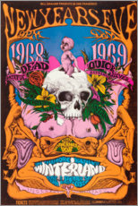 Premium poster  New Year's Eve concert, Grateful Dead - Entertainment Collection