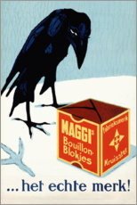 Premium poster  Maggi Brew Cubes (Dutch) - Advertising Collection