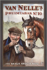 Premium poster  Pruimtabak (Dutch) - Advertising Collection