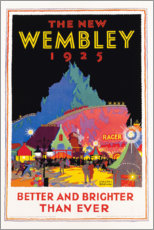 Aluminium print  The new Wembley 1925 - Gregory Brown