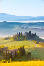 Acrylic print  Spring in Tuscany