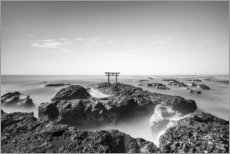 Acrylic print  Torii at the sea - Jan Christopher Becke