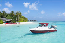 Acrylic print  Summer vacation in the Maldives - Jan Christopher Becke