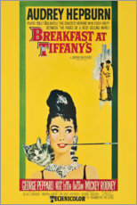 Canvas print  Breakfast at Tiffany's - Entertainment Collection