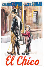 Canvas print  The Kid - Entertainment Collection