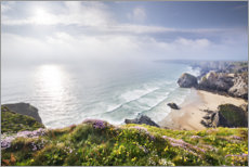 Premium poster  Spring on the Cornish coast - The Wandering Soul