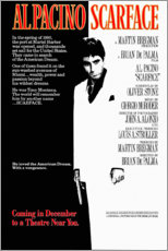 Canvas print  Scarface - Entertainment Collection