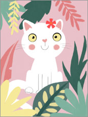 Gallery print  Jungle cat - Julia Reyelt
