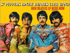 Acrylic print  Sgt. Pepper's Lonely Hearts Club Band - Entertainment Collection