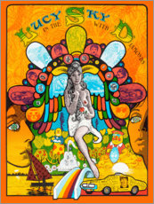 Premium poster  Lucy In The Sky With Diamonds - Entertainment Collection