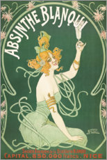 Premium poster  Absinthe Blanqui (French) - Nover