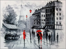 Gallery print  The streets of Paris - Olha Darchuk