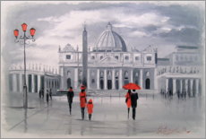 Canvas print  Walk in Rome - Olha Darchuk