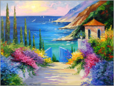 Gallery print  Sunny morning by the sea - Olha Darchuk