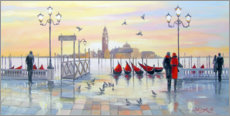Gallery print  In the morning in Venice - Olha Darchuk