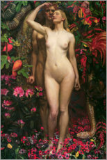 Wall sticker  The Woman The Man the Serpent - Byam Shaw