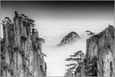 Canvas print  Huangshan in China - Chenzhe