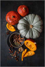 Premium poster  Bringing autumn to the table - Diana Popescu