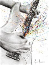 Canvas print  The Guitar Solo - Ashvin Harrison