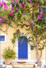 Canvas print  Typical greek house - Matteo Colombo