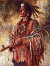 Premium poster  Nobility of Mind - James Ayers