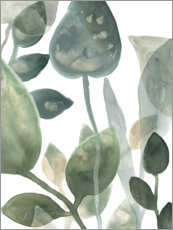 Wall sticker  Water Leaves I - June Erica Vess