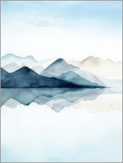 Canvas print  Glacial I - Grace Popp