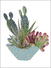 Foam board print  Cactus Arrangement I - Melissa Wang
