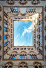 Acrylic print  Courtyard of Vienna City Hall - Sören Bartosch
