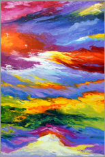 Premium poster  Between heaven and earth - Olha Darchuk