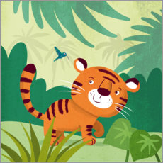 Gallery print  Little Tiger 2 - Julia Reyelt