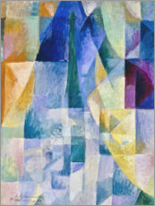 Canvas print  Window to the city - Robert Delaunay