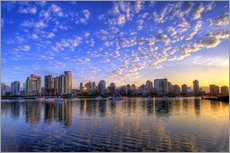 Gallery print  Sunrise over Vancouver - Chuck Haney