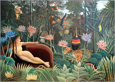 Gallery print  The dream - Henri Rousseau