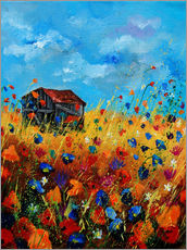 Wall sticker  Summery field - Pol Ledent