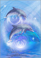 Gallery print  Dolphins Joyride - Dolphins DreamDesign
