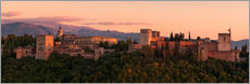 Wall sticker  Spain - Granada Alhambra Sunset - Tobias Richter