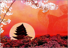 Wall sticker  Rising Sun - Javier Velasco