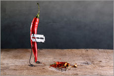 Gallery print  Simple Things - Chili Pepper - Nailia Schwarz