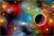 Gallery print  colorful universe - Mark Stevenson