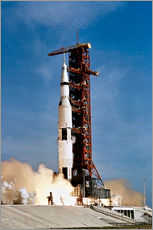 Gallery print  Apollo 11 taking off from Kennedy Space Center