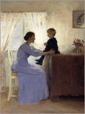 Gallery print  Mother and Child - Peter Vilhelm Ilsted