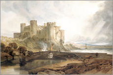 Wall sticker  Conway Castle, c.1802 - Joseph Mallord William Turner