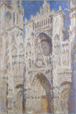 Gallery print  Cathedral afternoon - Claude Monet